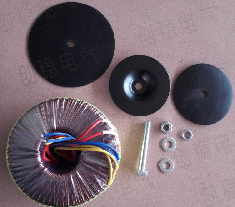 环形变压器组装图