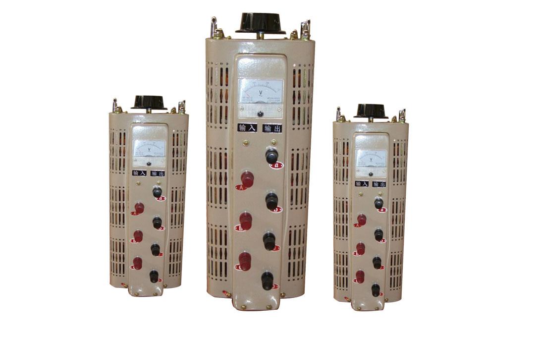 三相調壓器-0-430V可調接觸式調壓器