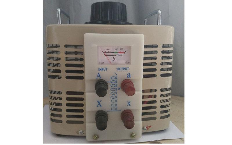 0-250V可調單相調壓器500va