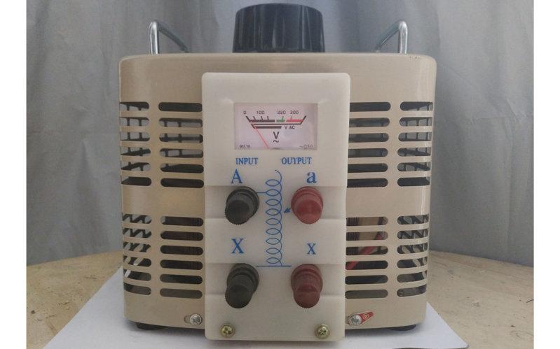 0-250V可调单相调压器500va