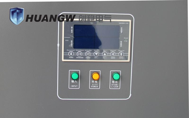 激光切割稳压器采用电子智能显示屏,精准已读懂
